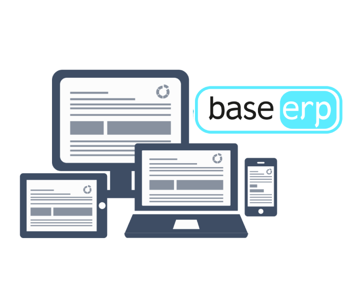base erp software mock icon