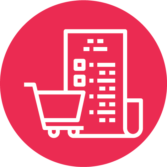 sales and purchase icon